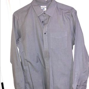 Old Navy large slim gray from dry cleaners